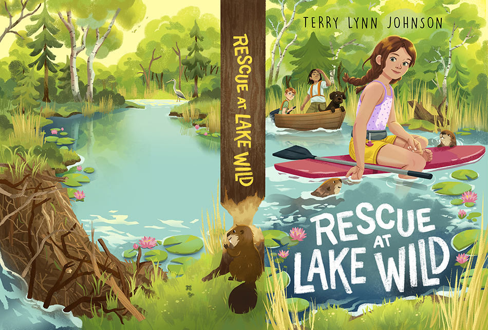 Rescue at Lake Wild Full Cover